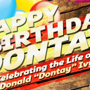 [3/31/16] Dontay Ivy Birthday Celebration & Community Party