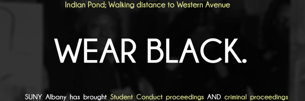 [3/09/16] Community Response To Unfair Student Conduct Hearings – #UAlbanyBusIncident #DefendBlackGirlsUAlbany